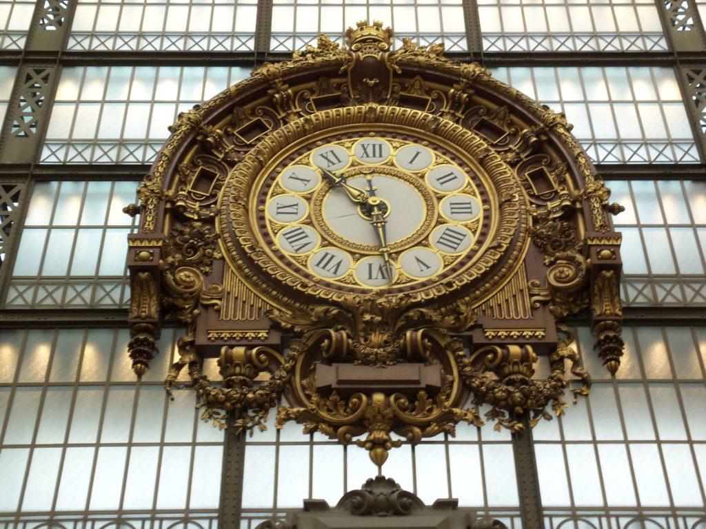 Reloj del museo D´orsay