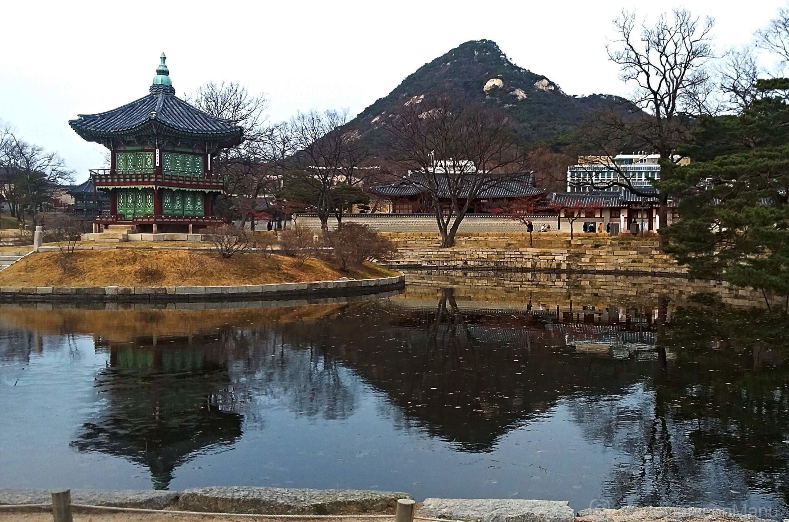 Paisaje de Gyeongbokgung