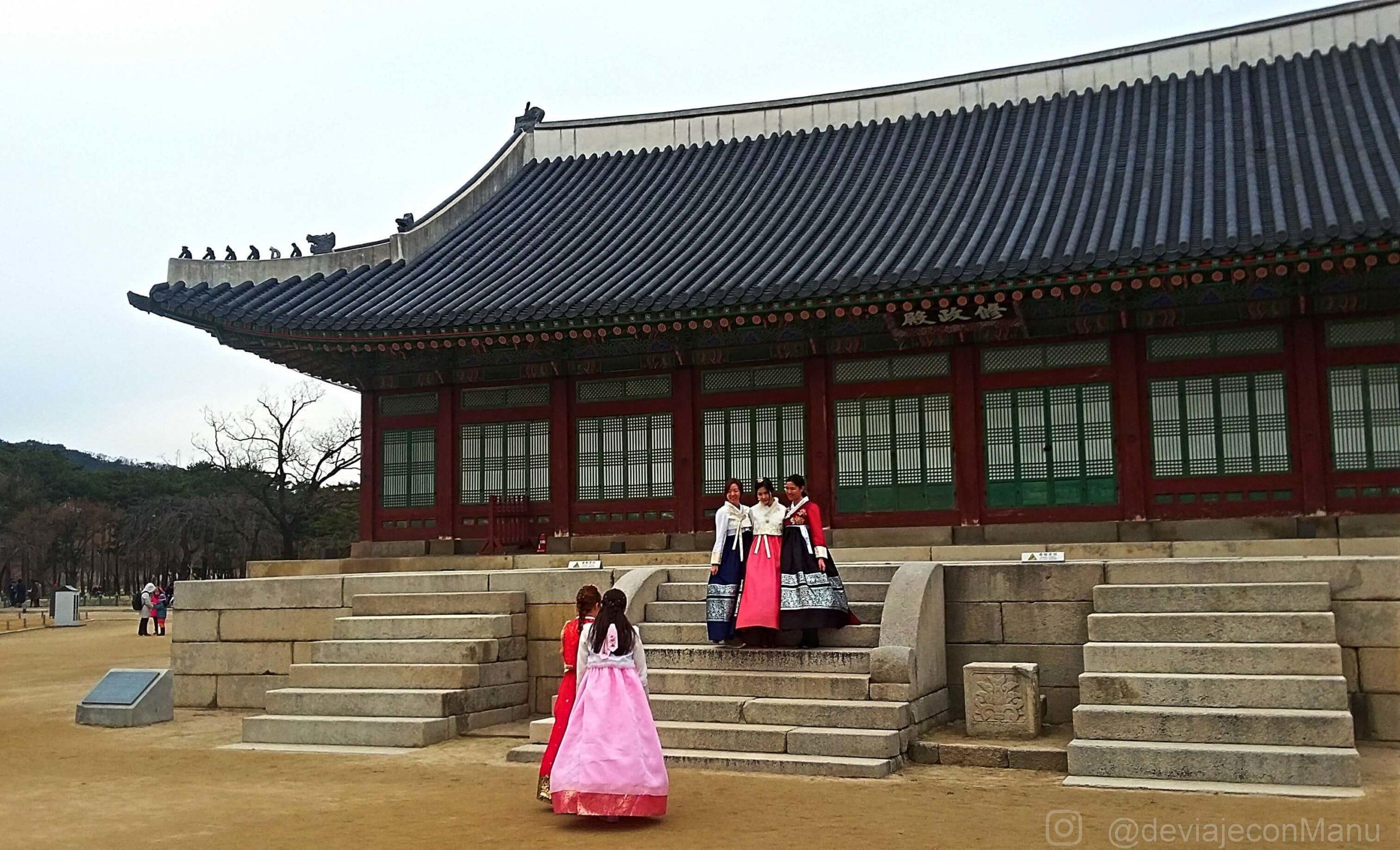 Hanbok y selfies