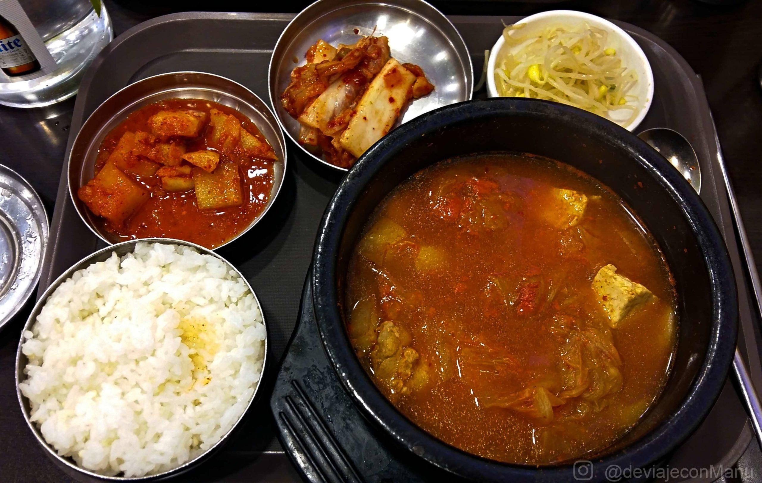 Guiso de Kimchi