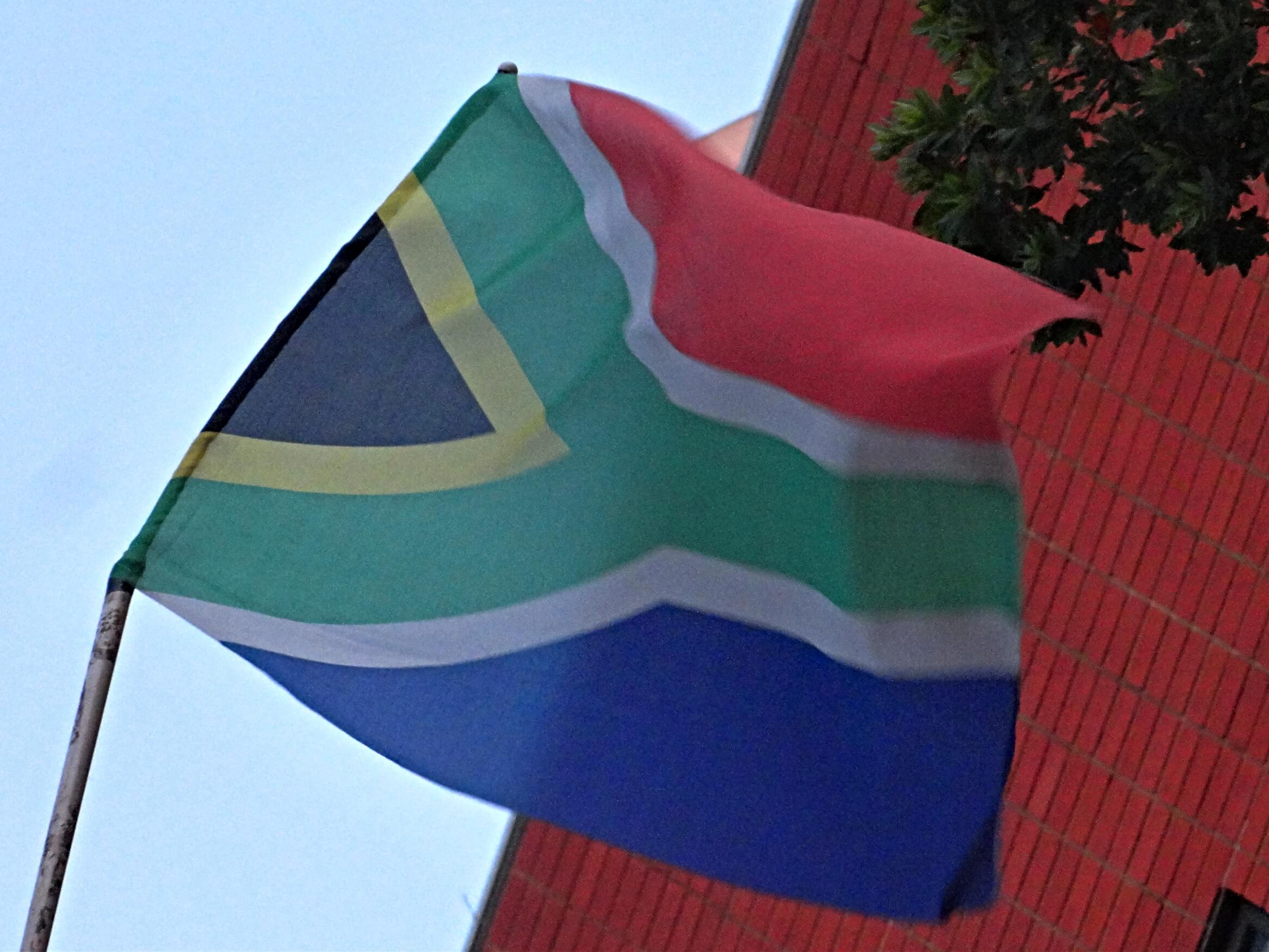 Bandera Sudáfrica