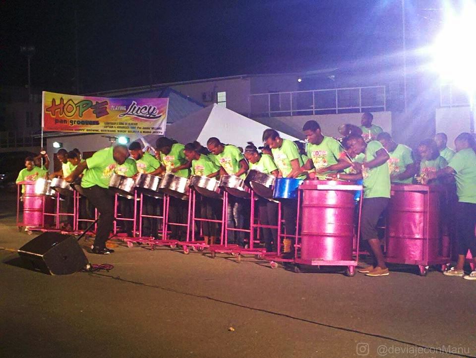 Banda de steel pan