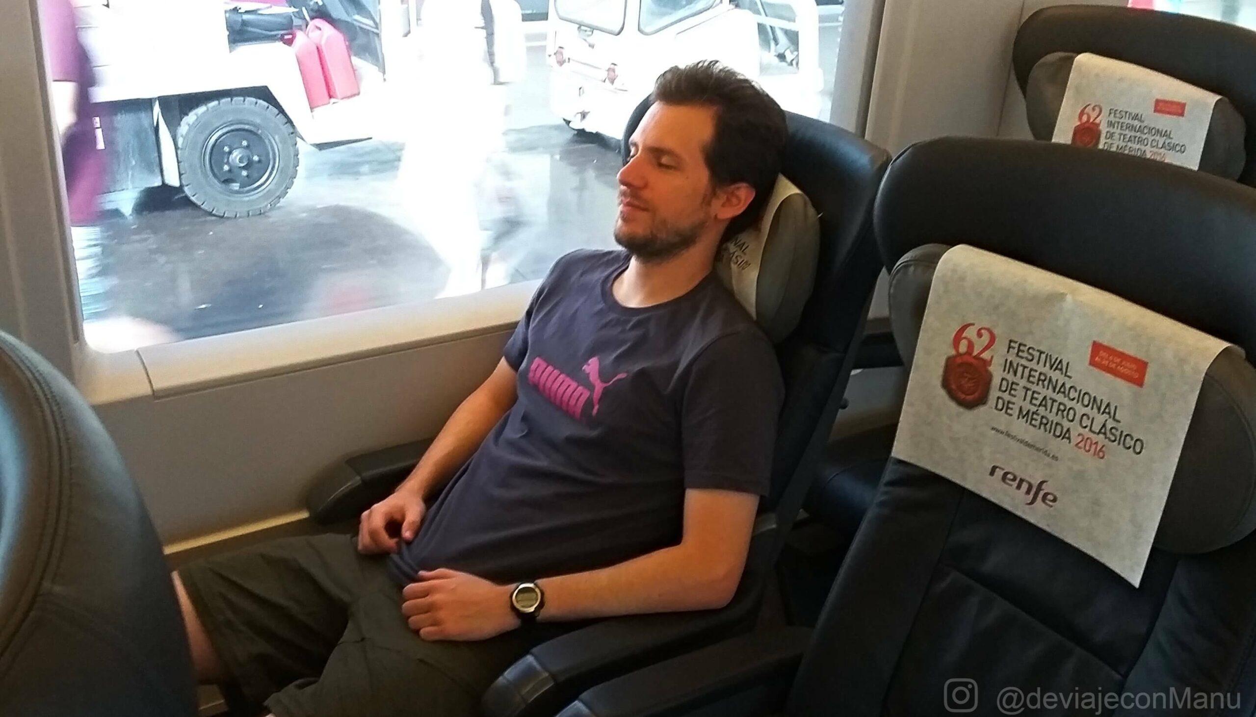 Relax en tren