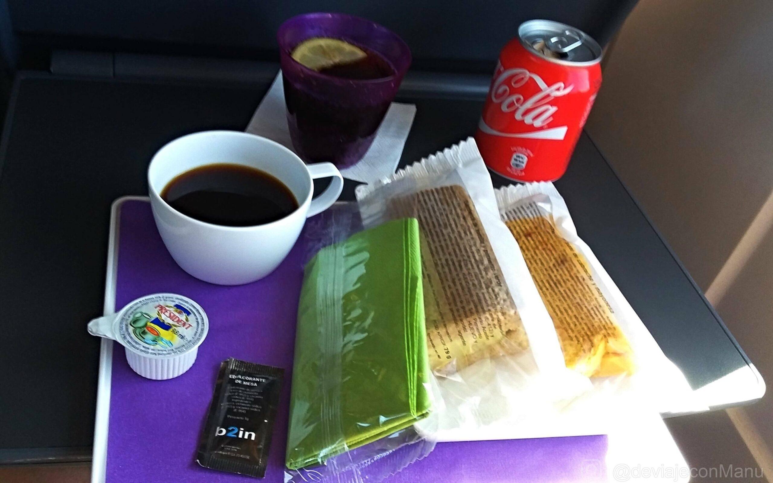 Almuerzo en tren