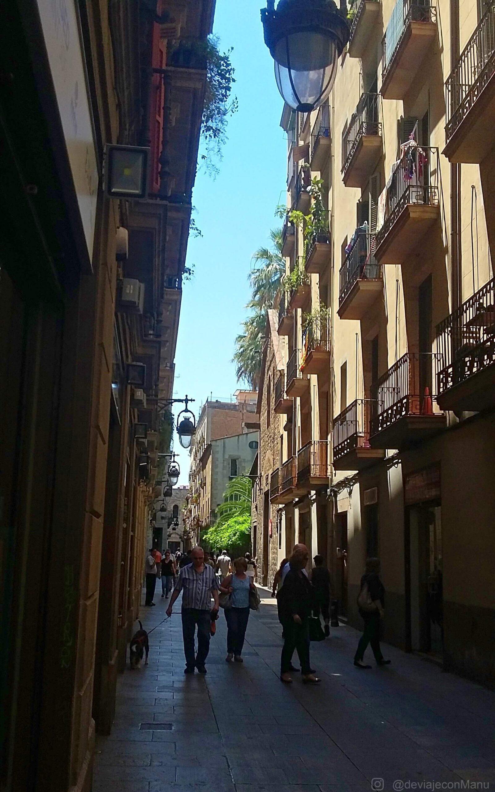 Calle catalana