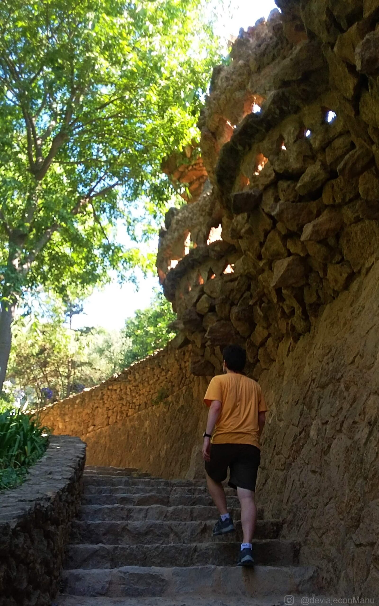 Escaleras de Güell