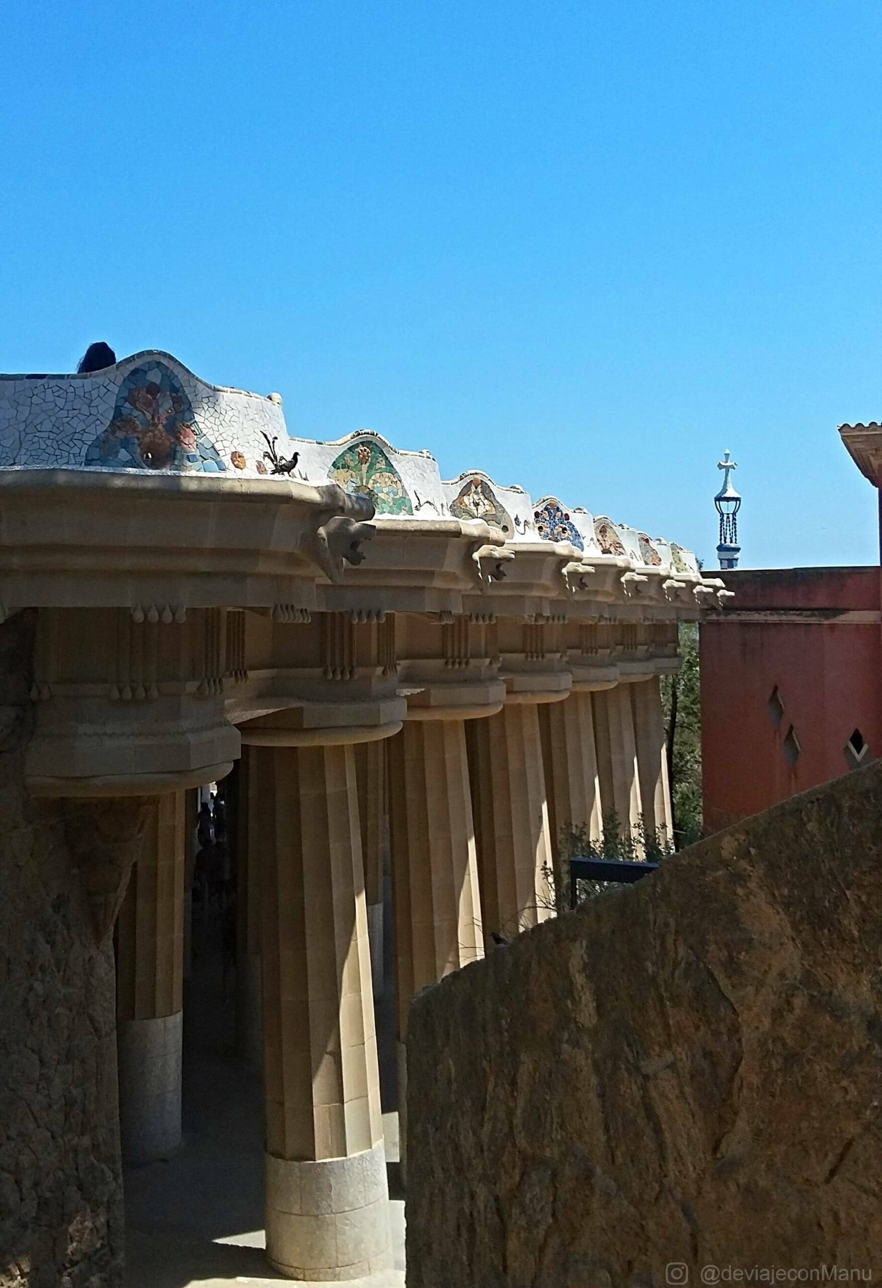 Columnas de Güell