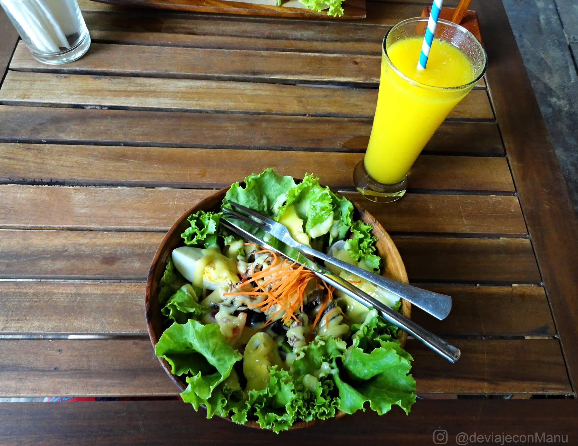 Almuerzo en Las Cabañas