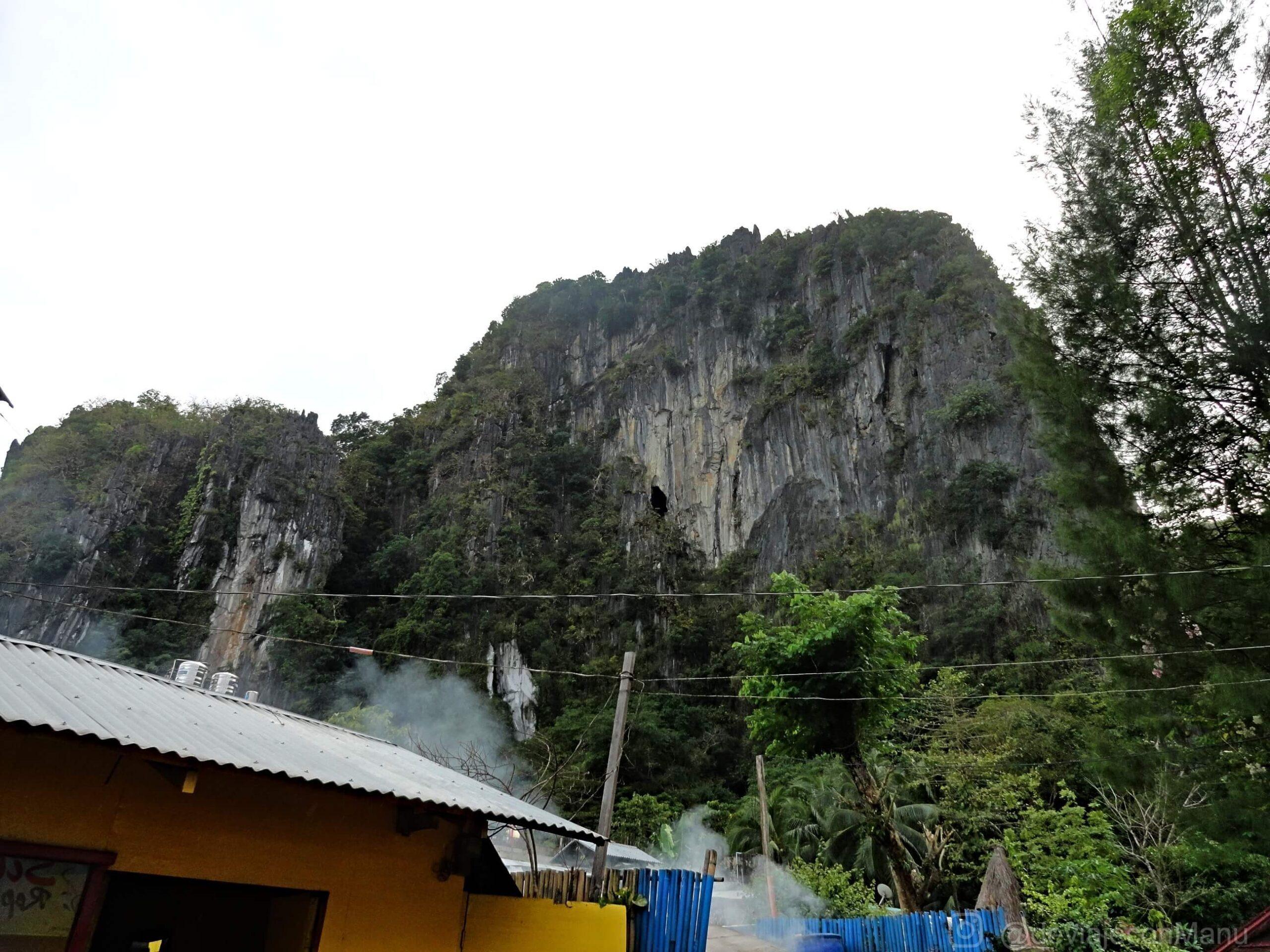 Vista del hostel