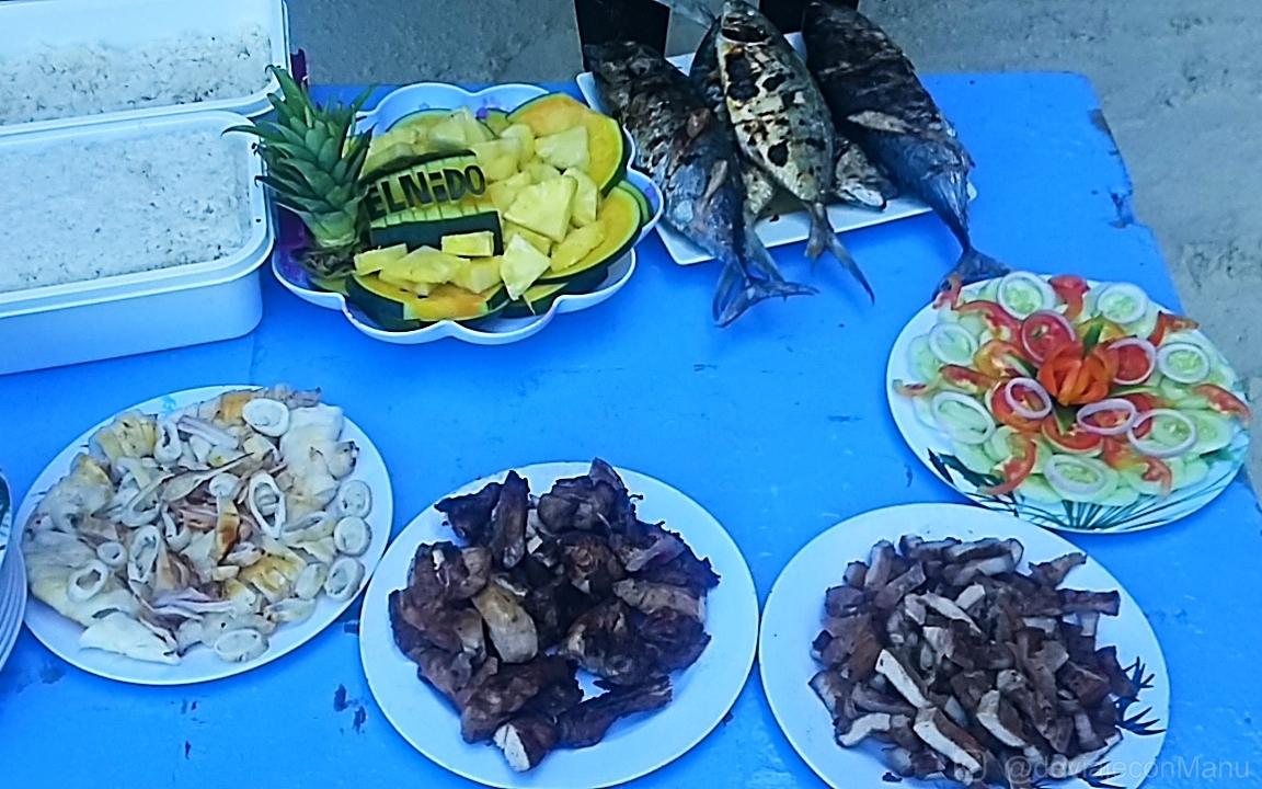 Almuerzo en Shimizu Island