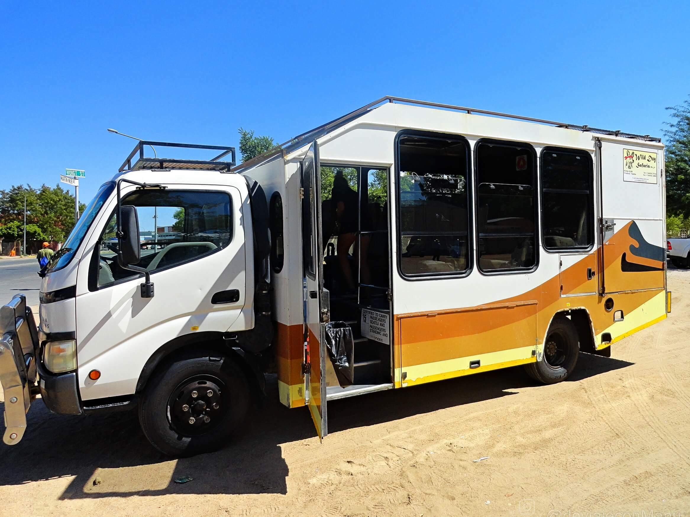 Camión Wild dog safaris