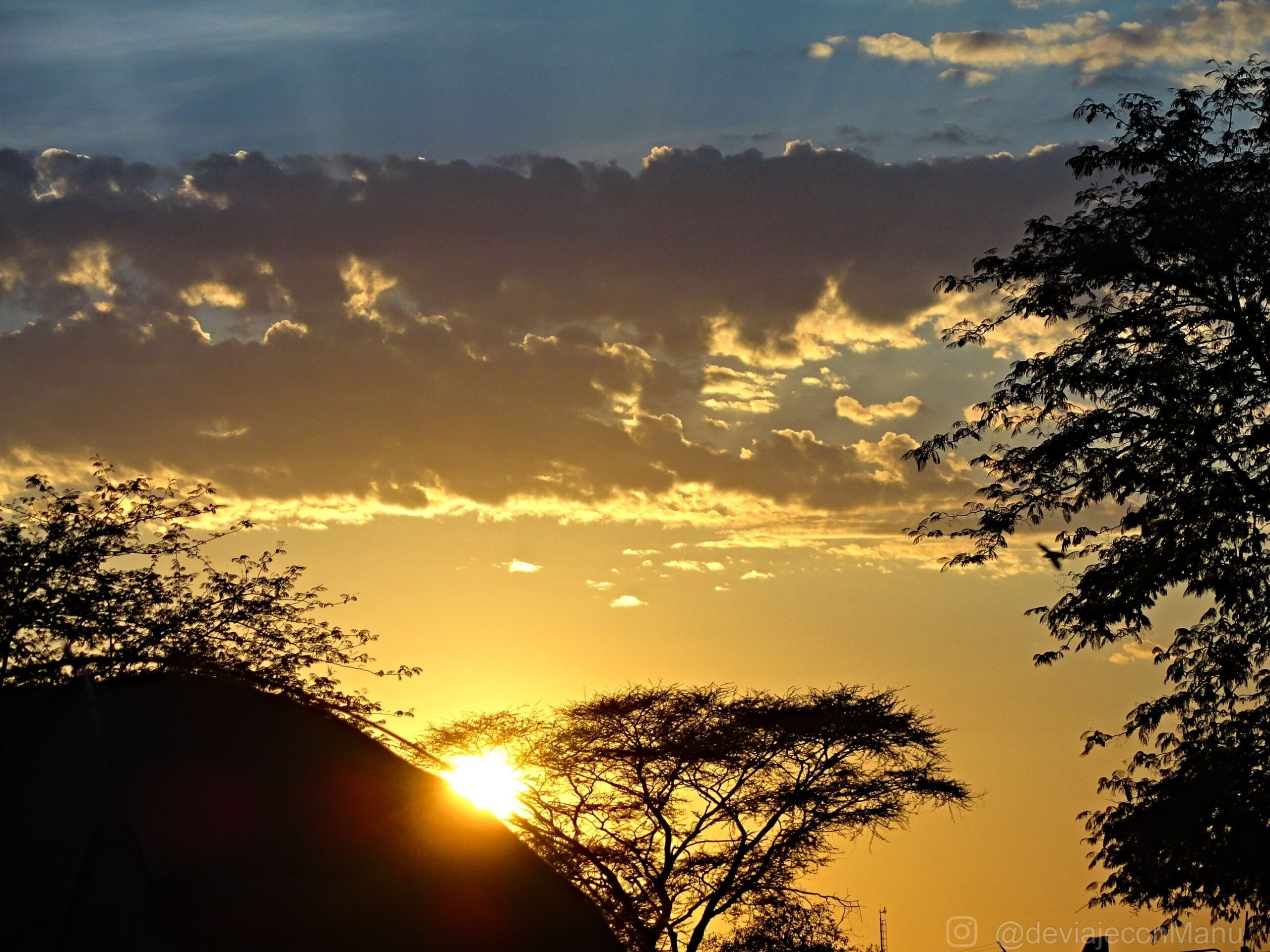 Atardecer en Namibia