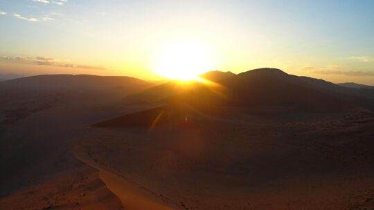 Amanecer en Dune 45
