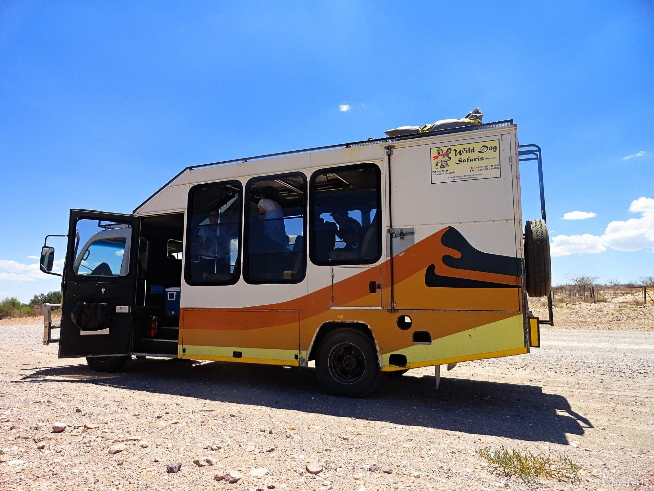 Camión namibia
