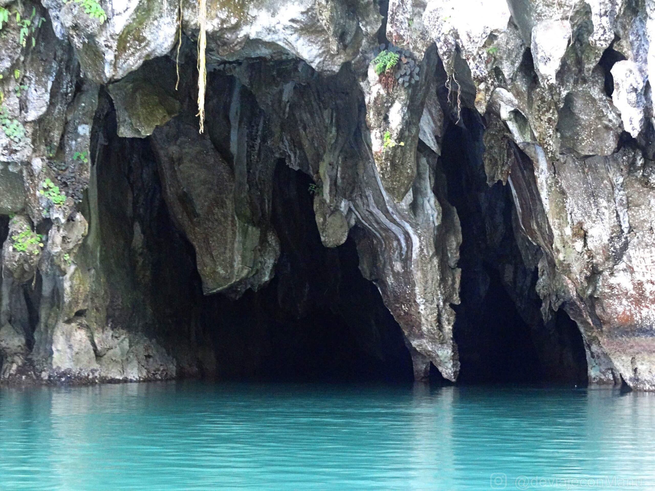 Caverna río subterráneo